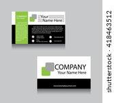 professional and designer... | Shutterstock .eps vector #418463512