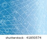 abstract design futuristic... | Shutterstock .eps vector #41850574