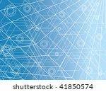abstract design futuristic... | Shutterstock .eps vector #41850574