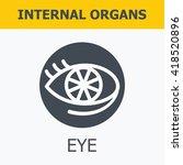 internal organs   eye. family... | Shutterstock .eps vector #418520896