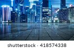 empty floor and with out of... | Shutterstock . vector #418574338
