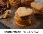 Heart Shaped Biscuits And...