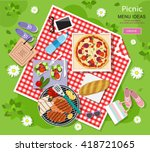 cool graphic vector concept of... | Shutterstock .eps vector #418721065