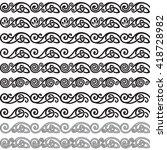 vector ornament  design...   Shutterstock .eps vector #418728982