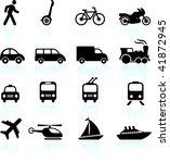 transportation icons design... | Shutterstock .eps vector #41872945