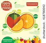 Persimmon. Infographic Templat...
