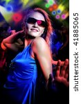 scenes of a night club or disco | Shutterstock . vector #41885065