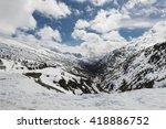 near the summit of the coastal... | Shutterstock . vector #418886752