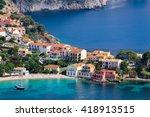 Assos Village  Kefalonia Island ...