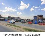 nairobi kenya   september 15...   Shutterstock . vector #418916005