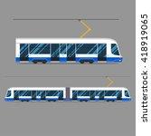 Set Vector Mass Rapid Transit...