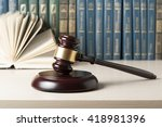 Law Concept   Law Book With A...