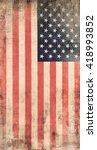 flag of usa | Shutterstock . vector #418993852