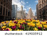 chicago  il   6 may  tulips... | Shutterstock . vector #419035912