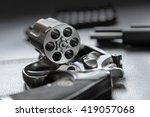 .357 caliber revolver pistol ...   Shutterstock . vector #419057068