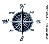 compass icon as a navigation... | Shutterstock . vector #419060302