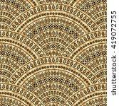 vector abstract seamless...   Shutterstock .eps vector #419072755