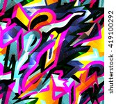 Graffiti Bright Psychedelic...