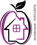 house logo | Shutterstock .eps vector #419115076