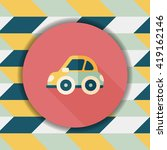 transportation car flat icon... | Shutterstock .eps vector #419162146