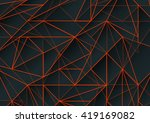abstract  background with... | Shutterstock . vector #419169082
