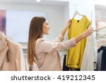 sale  clothes   shopping ... | Shutterstock . vector #419212345