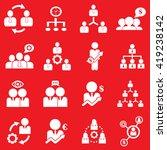 management   business training... | Shutterstock .eps vector #419238142