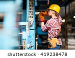young technician | Shutterstock . vector #419238478
