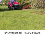 Gardner On Ride On Mowing The...