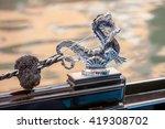 seahorse on a venetian gondola  ...