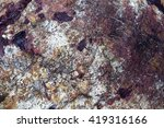 Blurry Image Of Natural Stone...