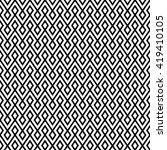 vector seamless zigzag pattern... | Shutterstock .eps vector #419410105