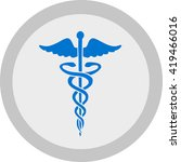 medical icon | Shutterstock .eps vector #419466016