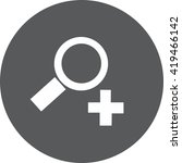 medical icon | Shutterstock .eps vector #419466142