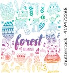 Vector Forest Elements In...