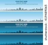 budapest event banner | Shutterstock .eps vector #419489065