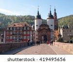 heidelberg  germany   april 20  ... | Shutterstock . vector #419495656