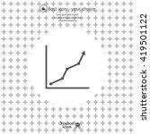 graph icon vector