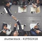business meeting team... | Shutterstock . vector #419502418