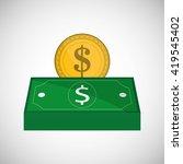 money design. payment icon.... | Shutterstock .eps vector #419545402