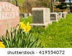 Tombstones In Montreal Cemetar...