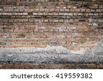 background of brick wall with... | Shutterstock . vector #419559382