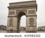 paris  france   13 february...   Shutterstock . vector #419582332
