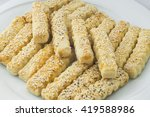 oriental sweets on a white... | Shutterstock . vector #419588986