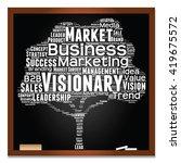vector concept or conceptual... | Shutterstock .eps vector #419675572