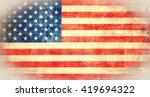 flag of usa | Shutterstock . vector #419694322