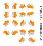 orange arrow   Shutterstock .eps vector #41970676