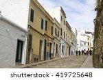 ciutadella   balearic islands ... | Shutterstock . vector #419725648