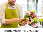 people  business  sale and... | Shutterstock . vector #419750332