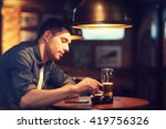 people and bad habits concept   ... | Shutterstock . vector #419756326